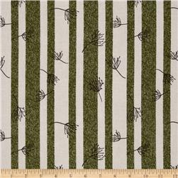 Winter Song Stripe Green