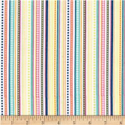 Timeless Treasures Pinwheel Stripe Multi
