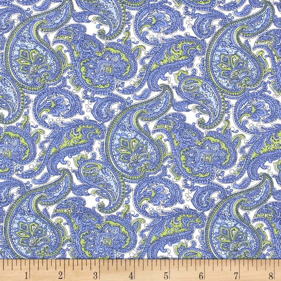 Dots and More Paisley Blue