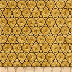 A Ticket in Hand Wheel Grid Gold