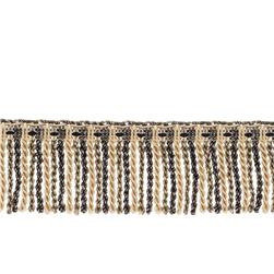 "Fabricut 2.5"" Porch Swing Bullion Fringe Zebra"