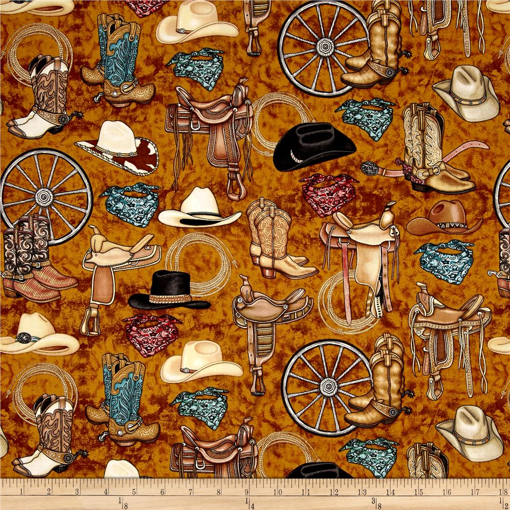 western home decor fabric unbridled western motifs designer fabric 11821