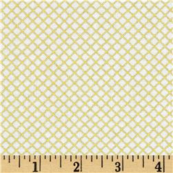 Robert Kaufman Remix Metallic Lattice Gold