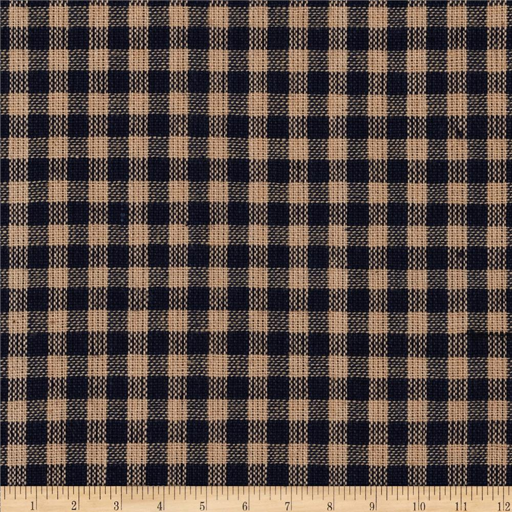 Homespun Basics Plaid Tan/Navy