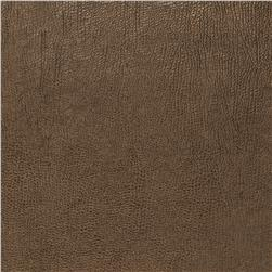 Fabricut 03344 Metallic Faux Leather Bison