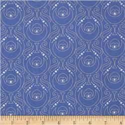 Facets Celtic Shields Metallic Blue