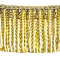"Fabricut 9"" Mountain Resort Bullion Fringe Pear"