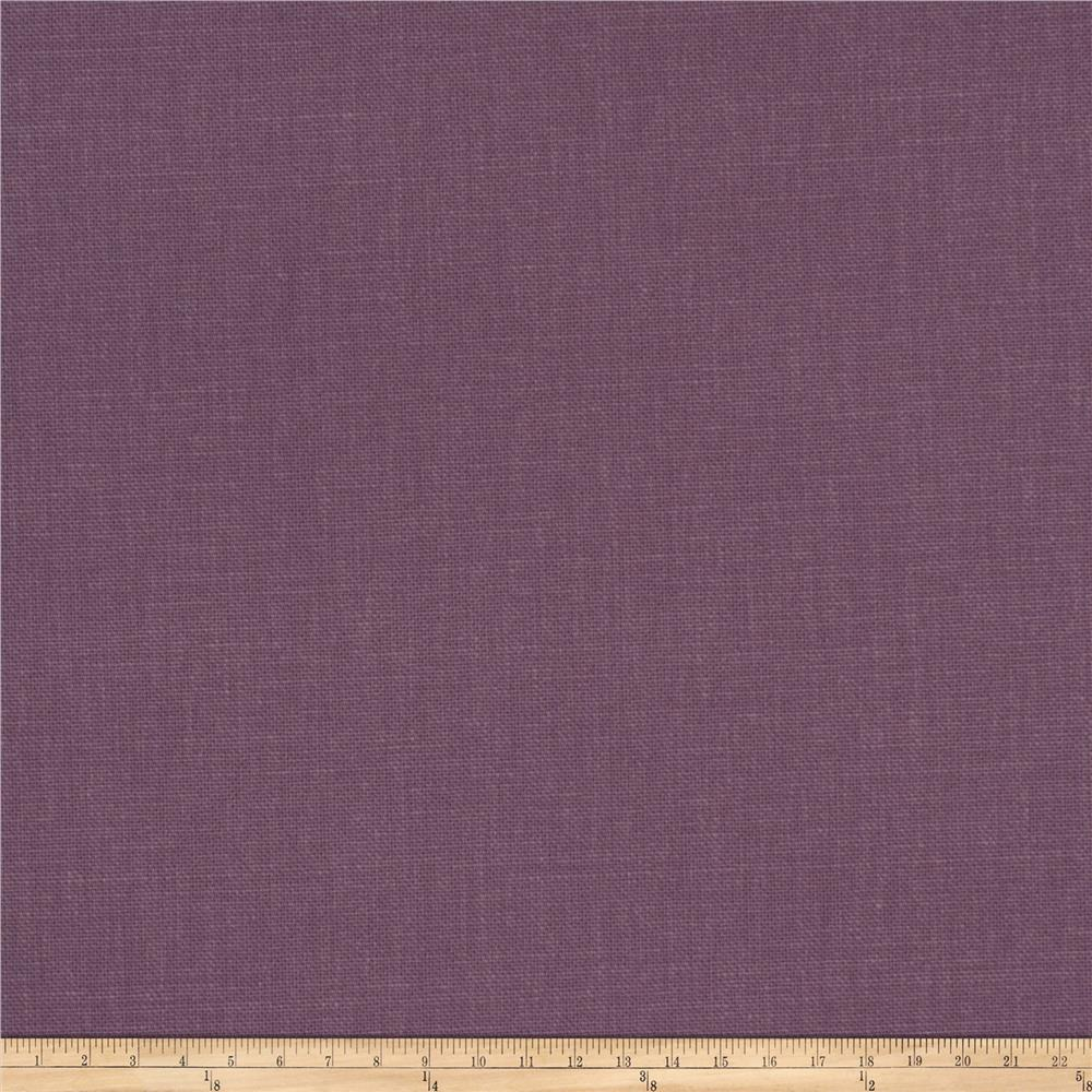 Fabricut principal brushed cotton canvas amethyst for Fabric cloth material