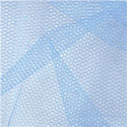 Nylon Netting French Blue Fabric