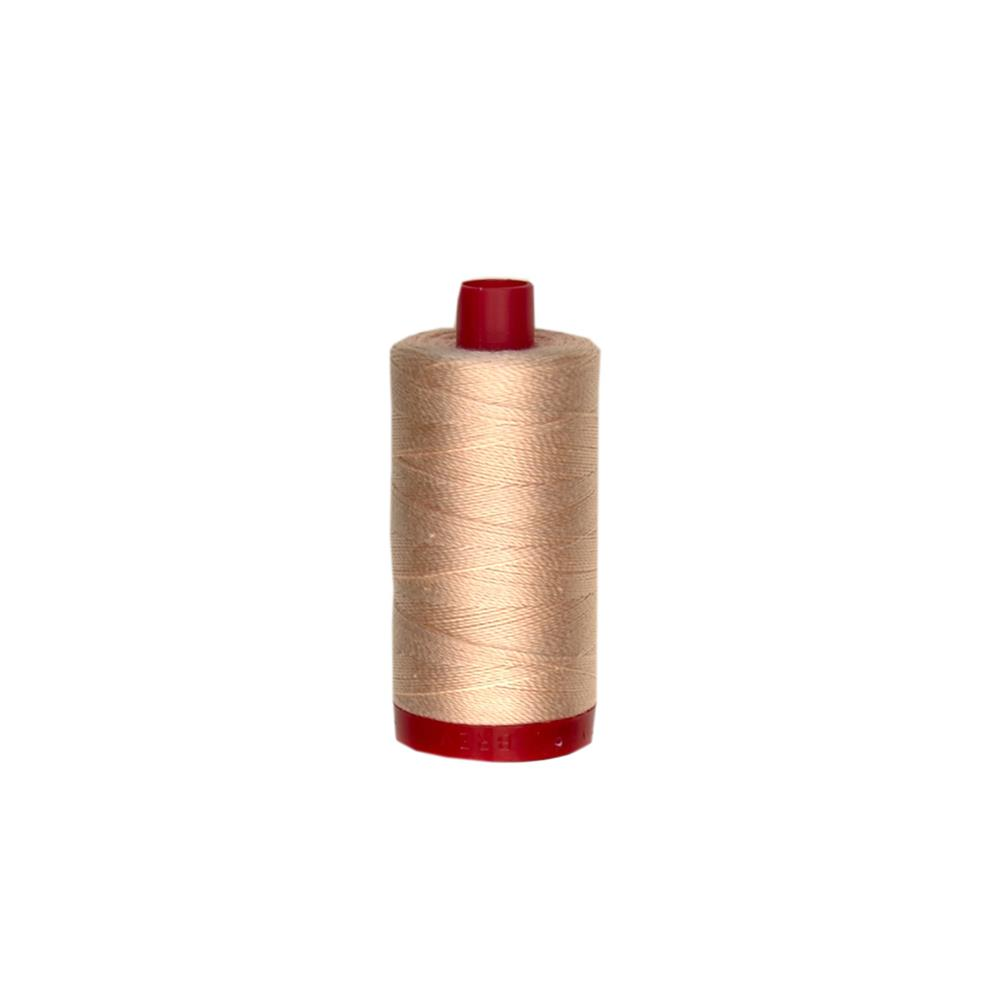 Aurifil 12wt Embellishment and Sashiko Dreams Thread Flesh