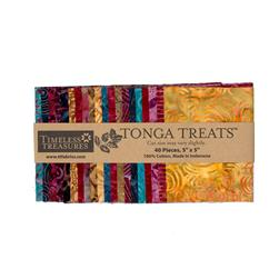"Tonga Batik Boysenberry 5"" Mini Treat"