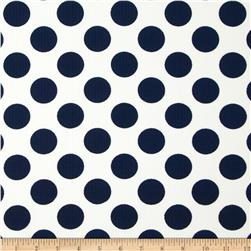 Telio Paola Pique Knit Large Dots Ivory/Navy