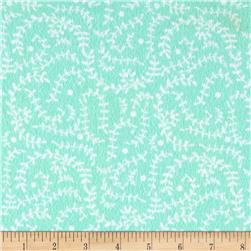 Flannel Vines Aqua