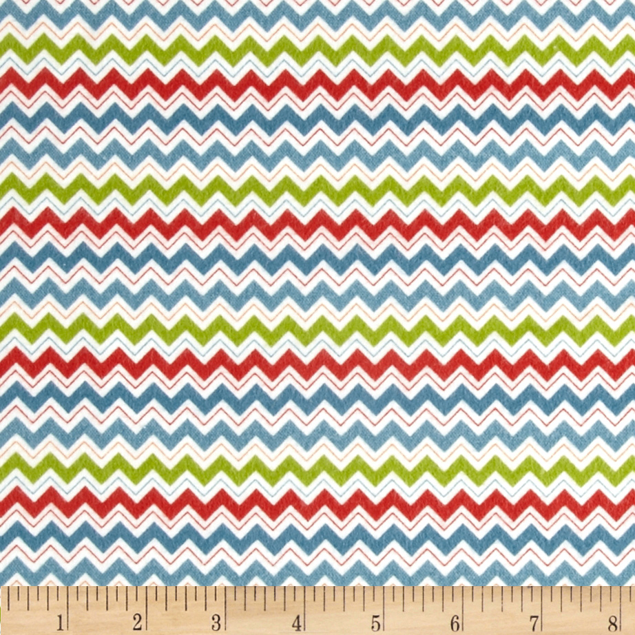 Riley Blake Hooty Hoot Returns Flannel Hoot Chevron