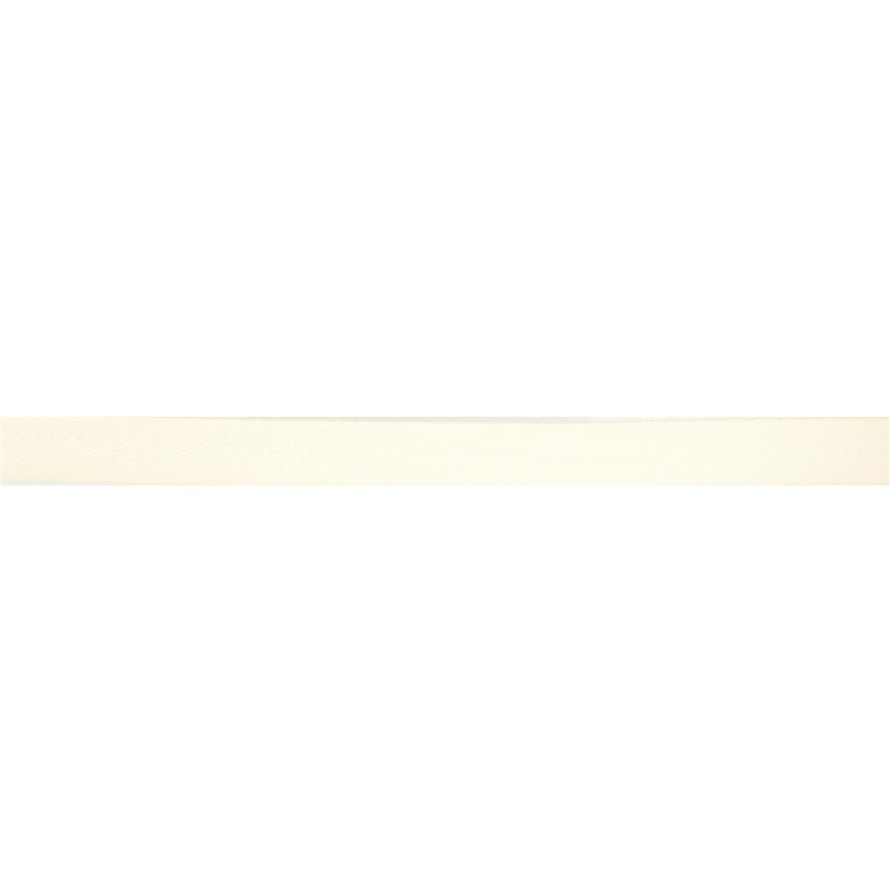 "May Arts 5/8"" Twill Ribbon Spool Ivory"