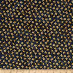 Stonehenge Land of the Free Stars Navy/Gold