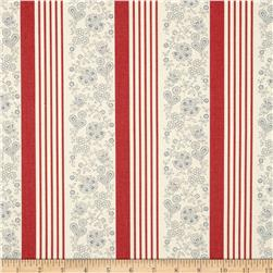 Moda Le Bouquet Francais Laverna Faded Red