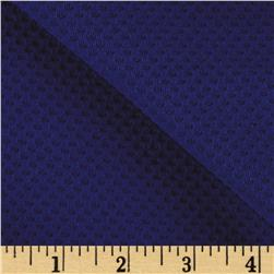 Mesh Double Knit Royal