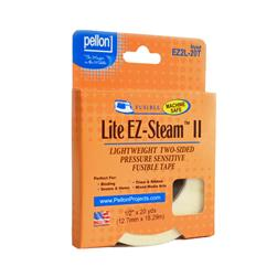 EZ-Steam II Lite Tape Two-Sided Pressure Sensitive Fusible Tape 1/2''