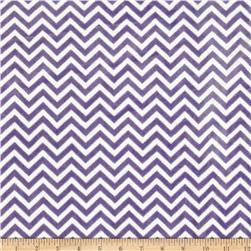 Minky Cuddle Mini Chevron Jewel/Snow