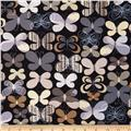 Kanvas Camo Mix Camo Butterfly Black/Grey