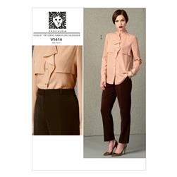 Vogue Misses' Top and Pants Pattern V1414 Size B50
