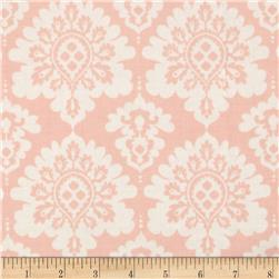 Riley Blake Lost and Found Love Laminate Damask Pink