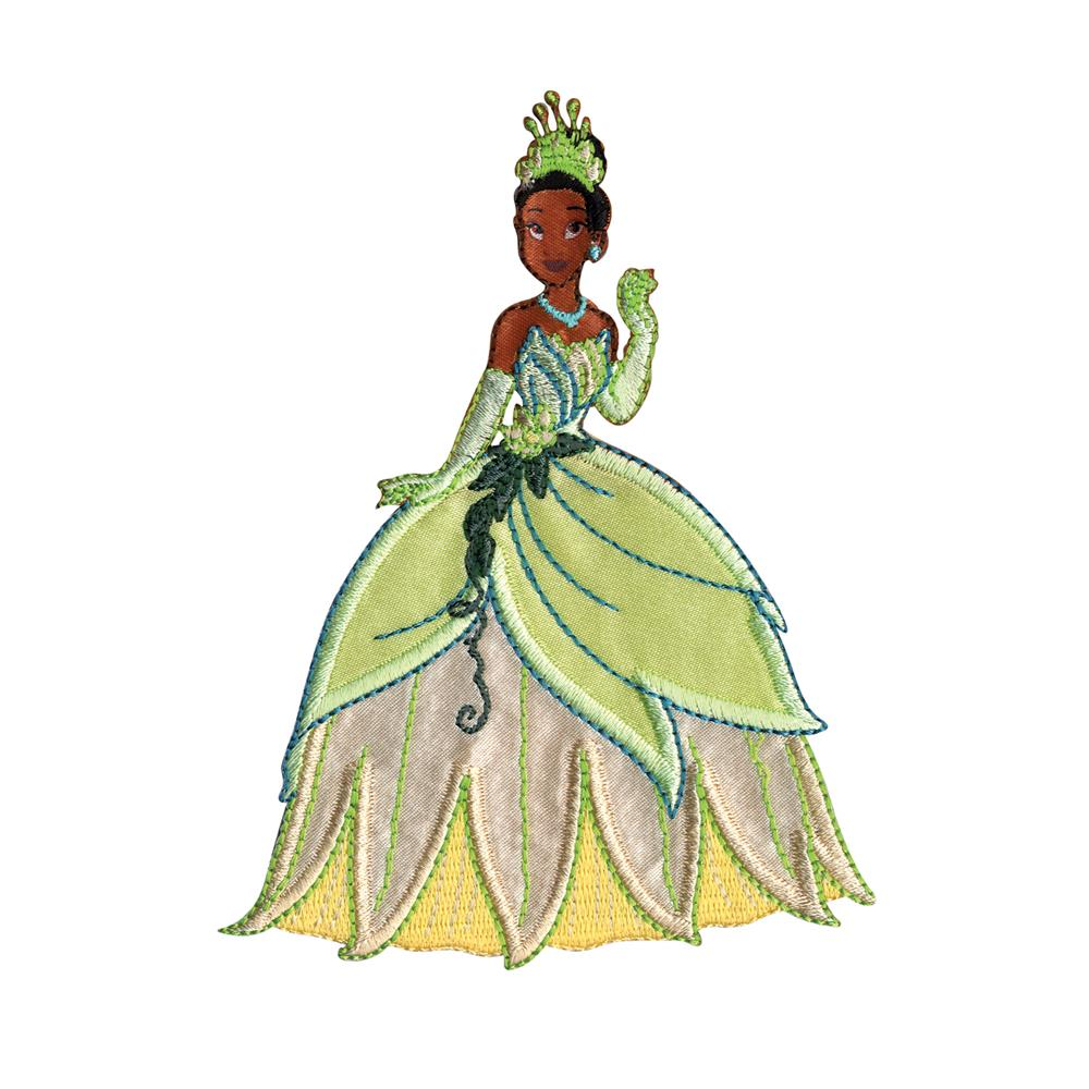 Disney Princess Iron On Applique Tiana