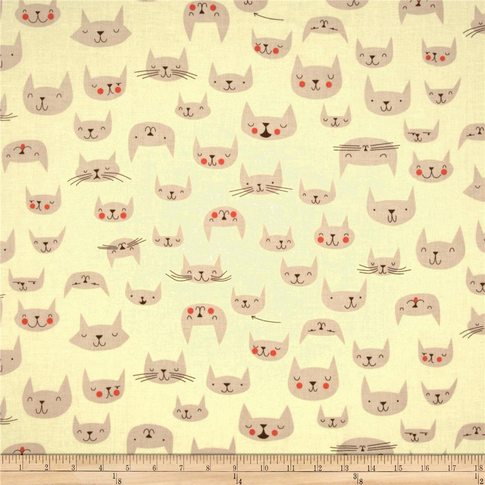The Hit Parade Knits Cats Cream