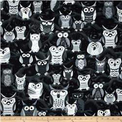 Nite Owls Large Owls Gray
