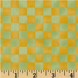 Graphix Checkered Yellow Green