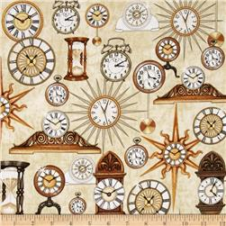 Timeless Clocks Cream