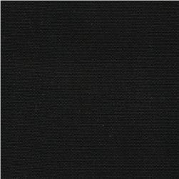 8.5 oz Brushed Canvas Black Fabric