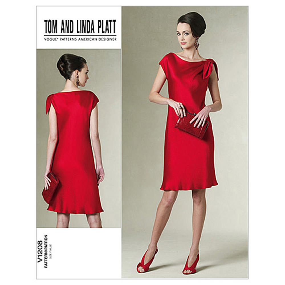 Vogue Misses' /Misses' Petite Dress Pattern V1208 Size