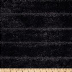 Luxury Faux Fur Garance Fur Black Fabric