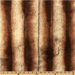 Faux Fur Sheared Chinchilla Gold/Beige Fabric