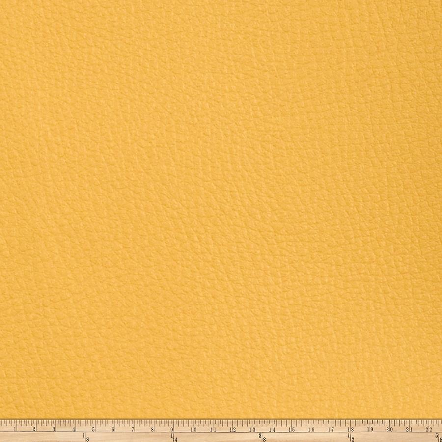 Fabricut Alloy Faux Leather Sunflower