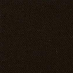 Washable Wool Solid Dark Brown