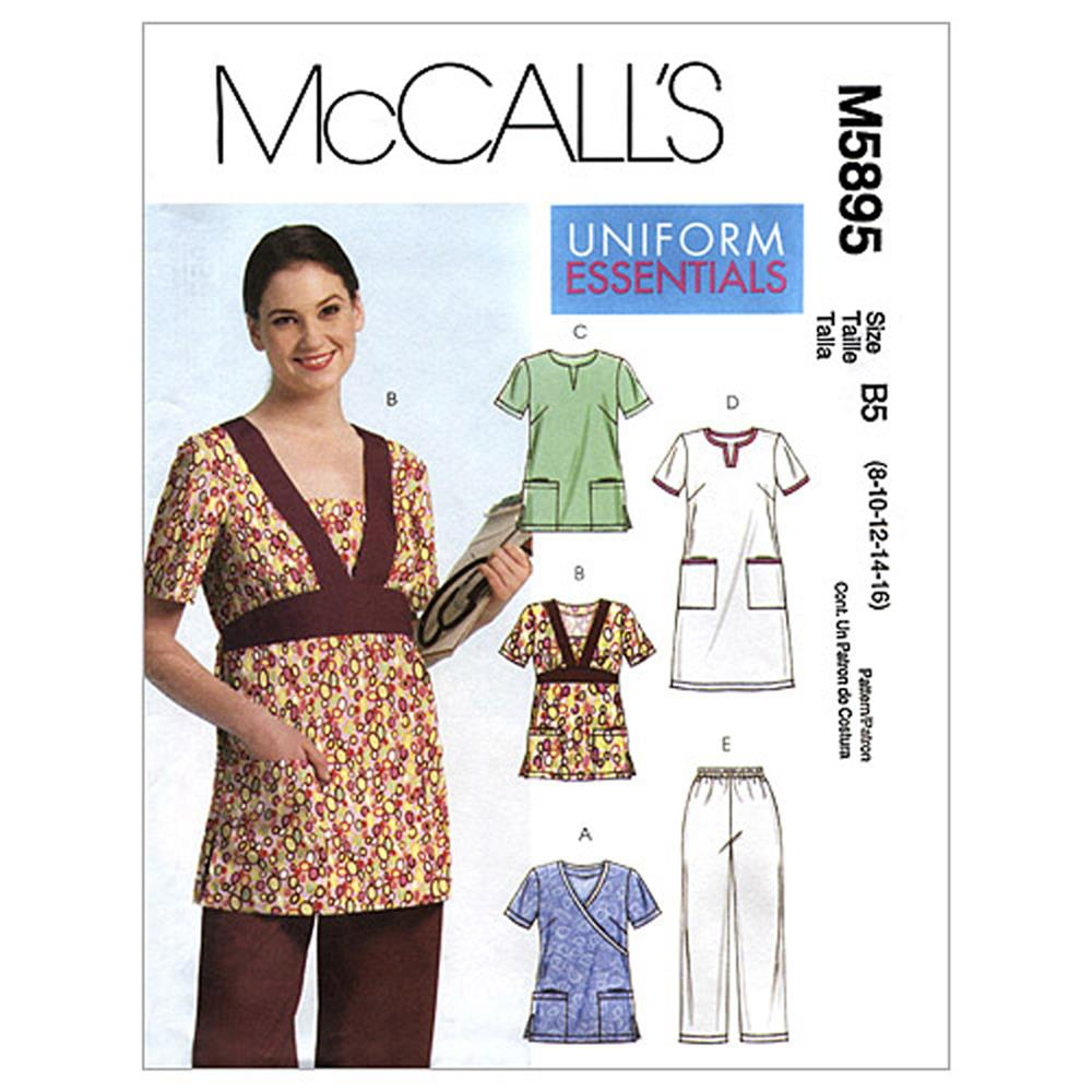 McCall's Misses'/Women's Tops, Dress and Pants Pattern M5895