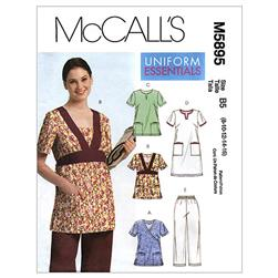 McCall's Misses'/Women's Tops Dress and Pants Pattern M5895