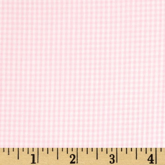 Wide Width 1/16 Gingham Check Pink