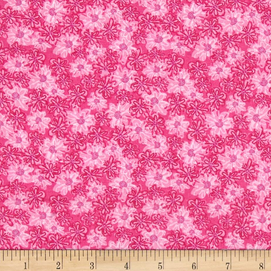 Pookie Luna Packed Floral Pink