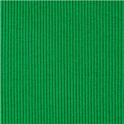 Rib 2x1 Knit Solid Shamrock