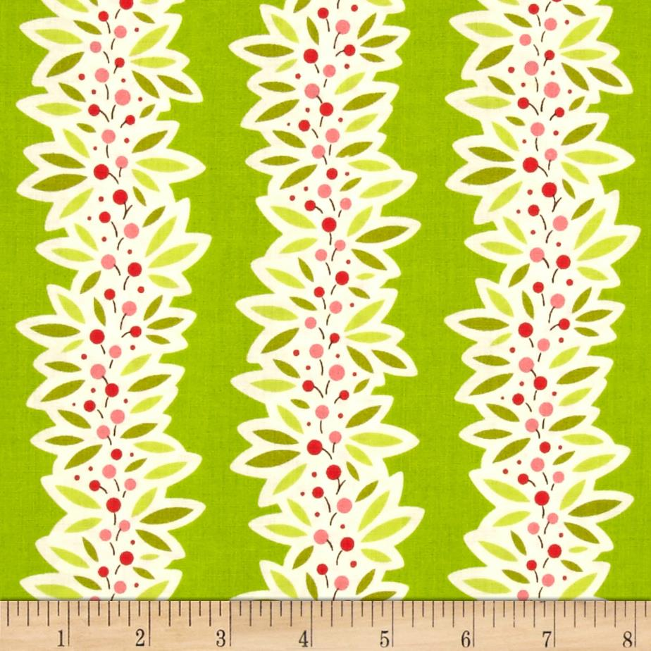 Heather Bailey Ginger Snap Garland Green