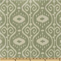 Magnolia Home Fashions Bali Ikat Spa Green