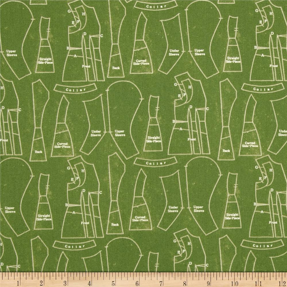 Angel Band Picture Vintage Patterns Green