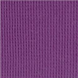 Cotton Thermal Knit Grape