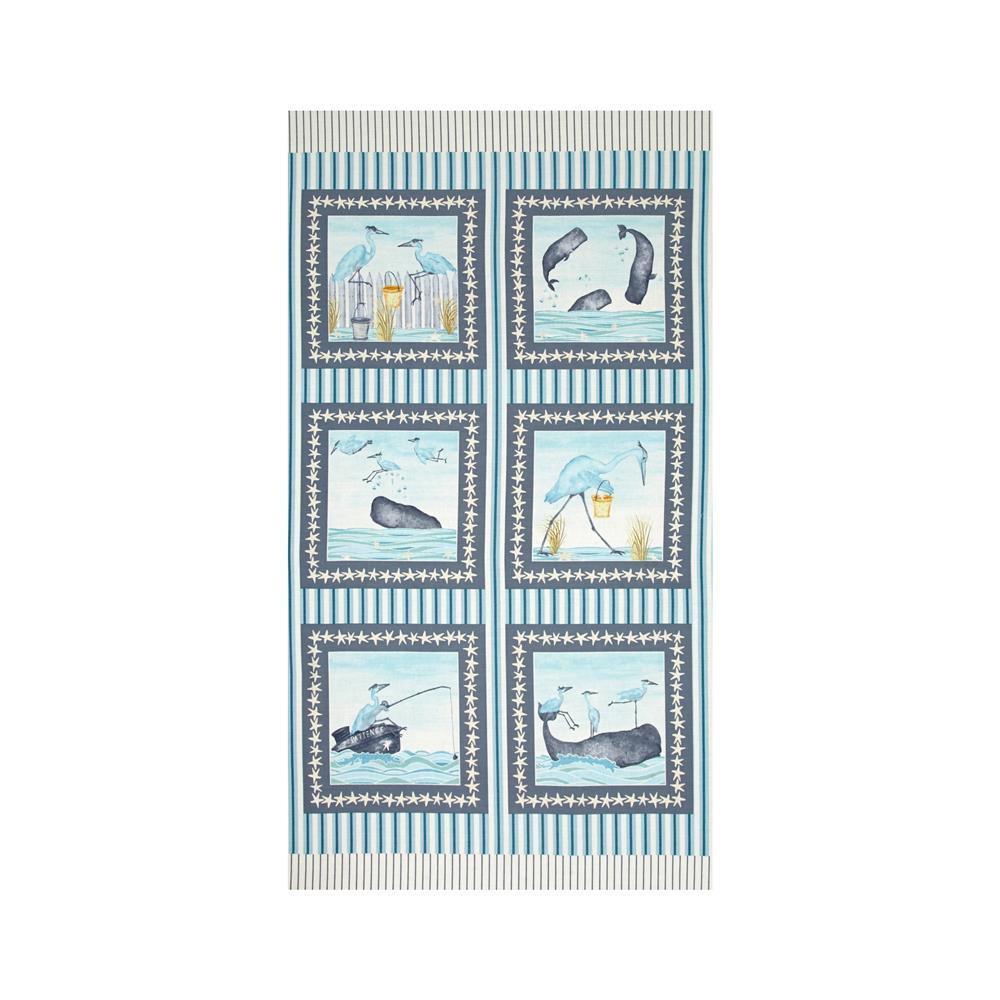 Barnacle Bay 23 In. Panel Aqua