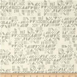 Cotton & Steel Clover Tiny Tiles Dove