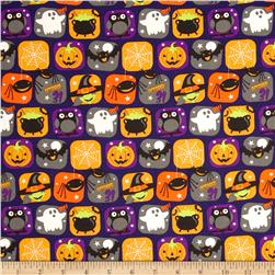 Horror Scope Icons Purple